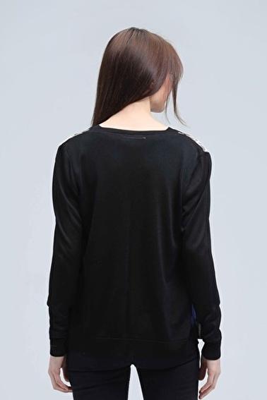 Silk and Cashmere Hırka Siyah